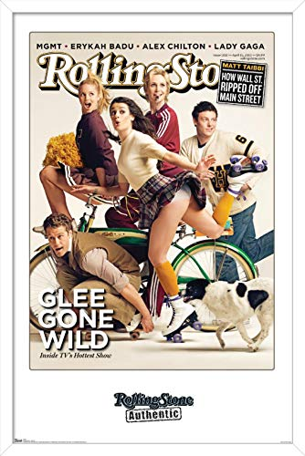 Trends International Rolling Stone Magazine - Glee 10 Wall Poster, 14.725' x 22.375', Multi