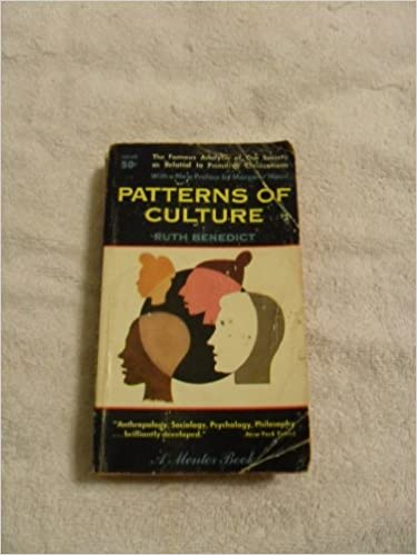 Patterns Of Culture With A New Pref By Margaret Mead Ruth Best Patterns Of Culture