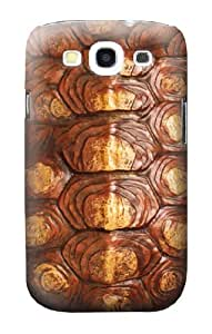 S0579 Turtle Carapace Case Cover for Samsung Galaxy S3