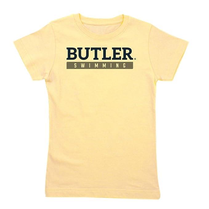 f65609b4b5f Amazon.com  CafePress - Butler Bulldogs Swimming T-Shirt - Girl s ...