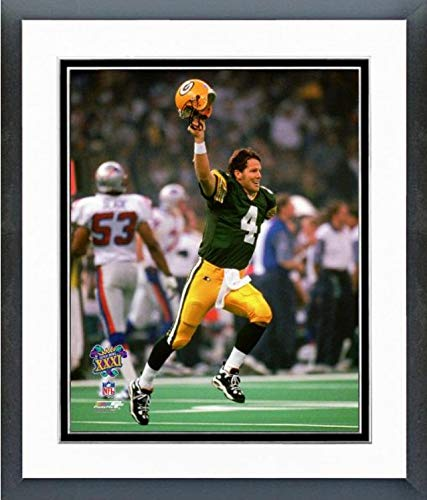 Brett Favre Green Bay Packers Super Bowl XXXI Action Photo (Size: 12.5