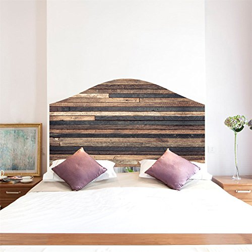 AmazingWall Headboard Wall Sticker Decal Art Bed Wallpaper DIY Home Decoration Mural Self Adhesive by AMAZING WALL (Image #2)