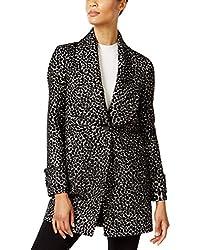 Kenneth Cole New York Women S 177kx585 Shawl Collar Walker Coat M