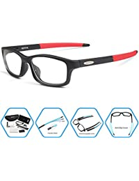 Sports Glasses Interchangeable Arms for Men Running...