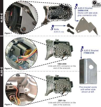 amazon com sonnax 34998 01k bracket wire harness con 4l80e automotive