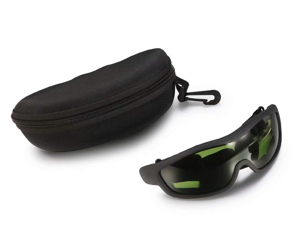 DIA BEAUTY IPL Laser Safety Glasses 190nm-2000nm Wavelength for Beauty & Cosmetology Eye Protection (Black)