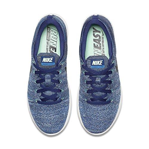 Nike Womens W Lunarepic Low Flyknit, Dark Purple / Black / Star Blue Dark Purple / Black / Star Blue