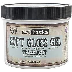 Prima Marketing Art Basics Soft Gloss Gel, 8.5-Ounce, Transparent