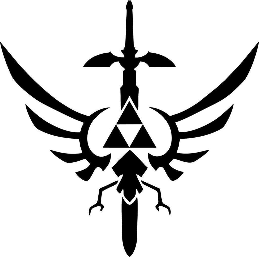 Amazon com: LEGEND OF ZELDA VIDEO GAME MASTER SWORD LOGO
