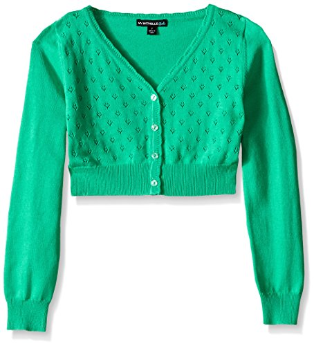 My Michelle Pointelle Long Sleeve Cardigan product image
