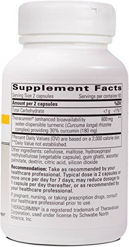 Integrative-Therapeutics-Theracurmin-HP-Curcumin-Turmeric-Supplement-27x-More-Bioavailable-than-Other-Extracts-Increased-Absorption-NSF-Certified-for-Sport-Vegan-120-Capsules