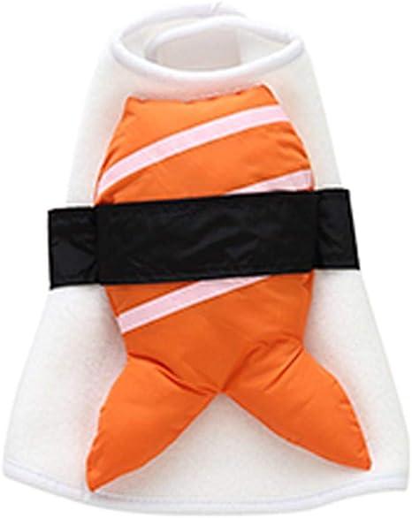 iYoung Disfraz de Sushi para Mascotas Vestido Suave y Lindo para ...