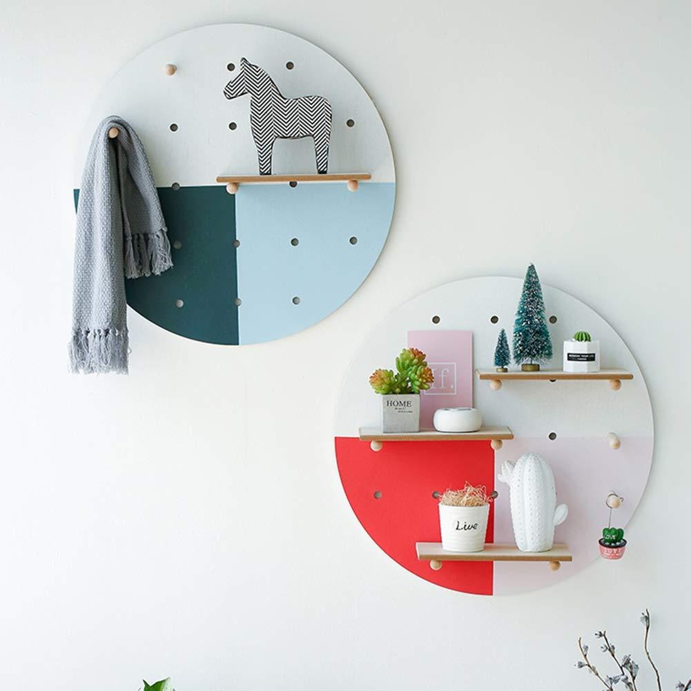 Amazon.com: Tingting-Wall - Perchero de pared (madera maciza ...