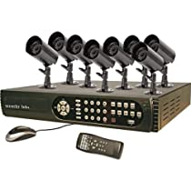 Security Labs 8-Channel 500GB HD DVR with 8 Indoor/Outdoor Cameras SLM434