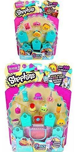 Shopkins Season 3 Bundle - 1 12-pack and 1 5-pack