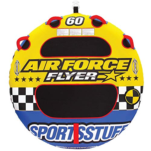 Sportsstuff Air Force | 1 Rider Towable Tube for Boating (Air Force Towable)