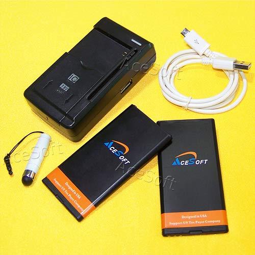High Capacity Microsoft Lumia 640 Battery: 2 X 2700mAh Spare