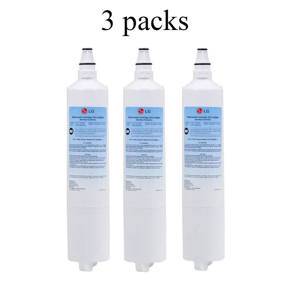 LG LT600P Refrigerator Water Filter (3 pack)