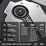 ROOFULL External CD DVD Drive USB 3.0 Type-C Slim