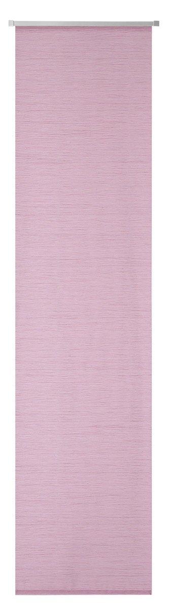 245/x 60/cm Tessuto Deko Trends fossilia 49/Tenda a Pannello con Binario di Scorrimento in Alluminio e contrappeso Rosa Antico