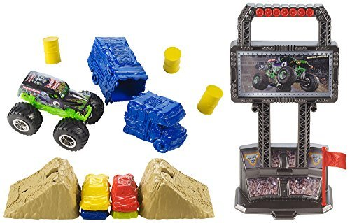 Hot Wheels Monster Jam Crash and Carry Arena Play Set by Hot Wheels