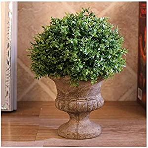 MARJON FlowersArtificial Plants Flower Bouquets Realistic Artificial Plants Fake Wheat Grass Greenery Artificial Plastic Shrubs for Outdoors Home Table Kitchen Office Wedding Garden Grave Decorations 72