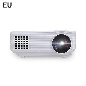 Hook.s. Mini proyector de 800 lúmenes, 1080P Full HD LED Proyector ...