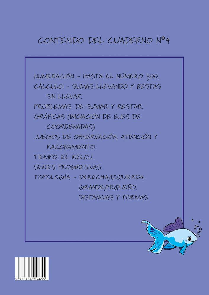Matematicas Faciles 4 (Primaria): EQUIPO ABACO: 9788484914655: Amazon.com: Books