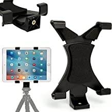 "iGadgitz Tablet Holder Mount Bracket for Tripods with ¼ inch screw thread for Apple iPad, iPad 2, iPad 3, iPad 4, iPad Air, iPad Air 2, iPad Pro 9.7"", iPad Mini, iPad Mini 2, iPad Mini 3, iPad Mini 4"