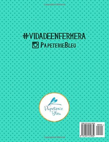 Vida de enfermera: Un libro de colorear para enfermeras (Spanish Edition): Papeterie Bleu: 9781640010659: Amazon.com: Books