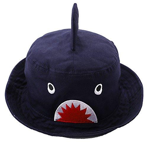 Hisharry Toddler Boy Bucket Hat- Cute Baby Girl Kids Sun UV Protection Shark Animal Hat 18.8