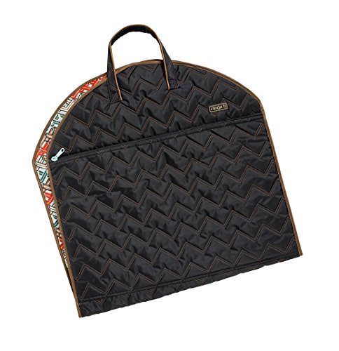 cinda b Slim Garment Bag, Ravinia Black, One Size by Cinda b.