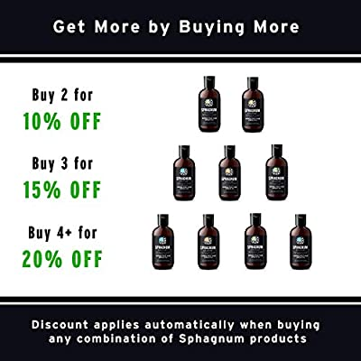 Hair Loss Shampoo and Conditioner - 100% Natural Sulfate Free Treatment with Effective Peat Mud for Thin and Damaged Hair. No SLS/Parabens. Powerful Organic DHT Blocker. Best Shampoo for Hair Growth.