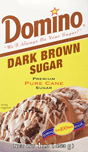 Domino Pure Cane Dark Brown Sugar 1lb