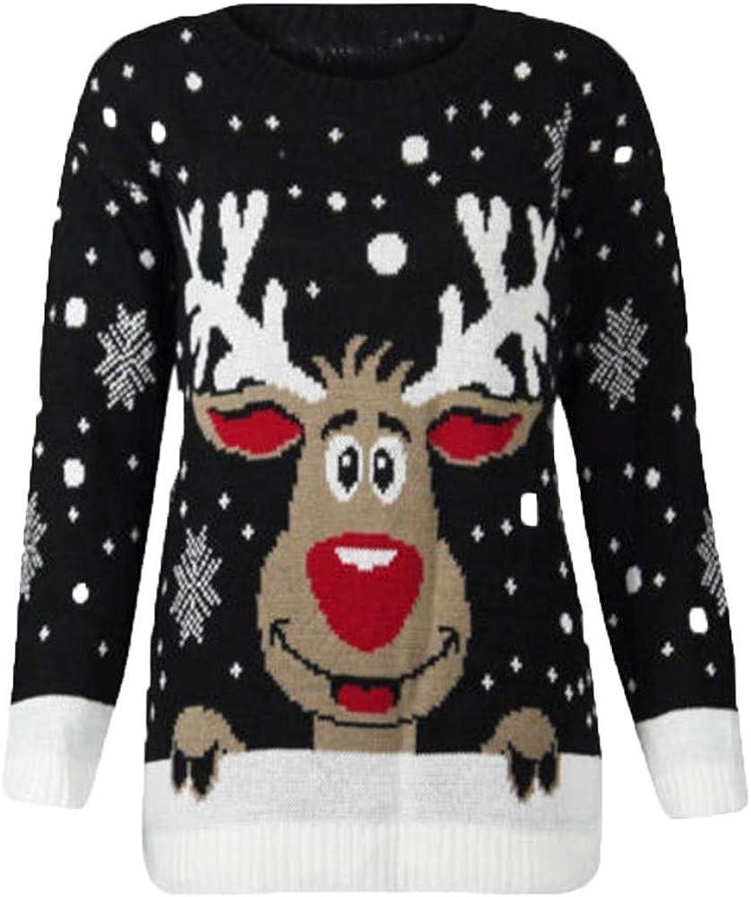 jersey navideño blanco con renos hombre
