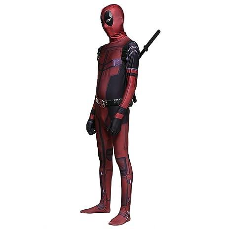 werty Marvel Deadpool Cosplay Traje Traje De Disfraces De ...