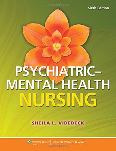Psychiatric-mental Health Nursing [Sheila L. Videb] (Tapa Blanda)
