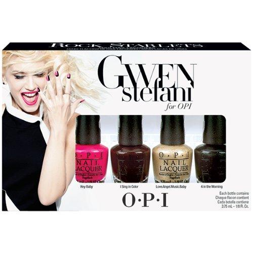 OPI Nail Polish Gwen Stefani, Rock Starlets Mini, 4 comte