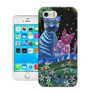 LarryToliver iphone 5/5s Awesome Plastic Protective Skin Case Cover Shell - Customizable Cats and tigers