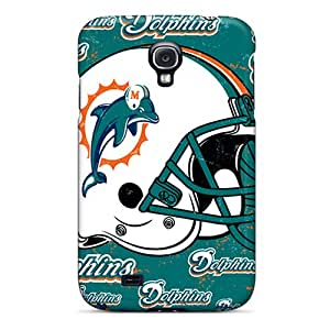 Best Hard Phone Covers For Samsung Galaxy S4 With Provide Private Custom High-definition Miami Dolphins Pictures PamelaSmith
