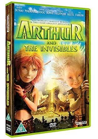 Amazon Com Arthur And The Invisibles Dvd Movies Tv