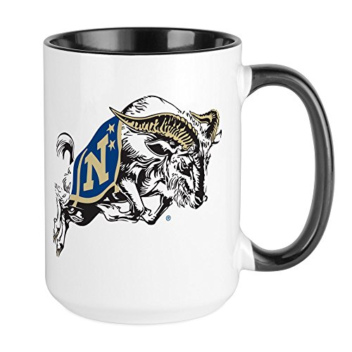 Mug Academy - CafePress U.S. Naval Academy Bill T Coffee Mug, Large 15 oz. White Coffee Cup