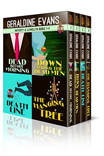 RAFFERTY & LLEWELLYN BOXED SET: BOOKS 1 TO 4 by [Evans, Geraldine]