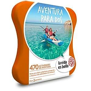 Smartbox LA Vida ES Bella - Caja Regalo - Aventura para Dos - 470 experiencias de Aventura como Parapente, Surf, Kayak y más en España y Andorra