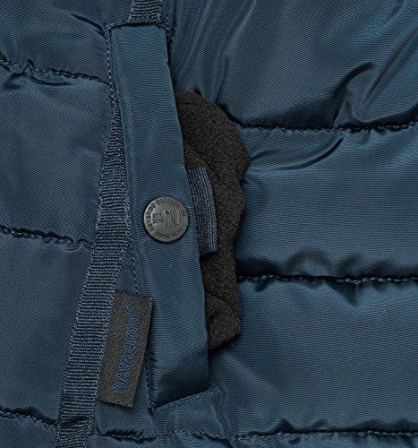 Sintetica Miamor Con Colori Trapuntata Xs Donna 9 Invernale Da Blu In Navahoo Giacca Cappuccio Pelliccia xl pzcq4fz