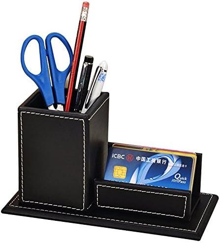 Black Square Mesh Desk Pen Pencil Organiser Cup Holder Office School Supplier EH