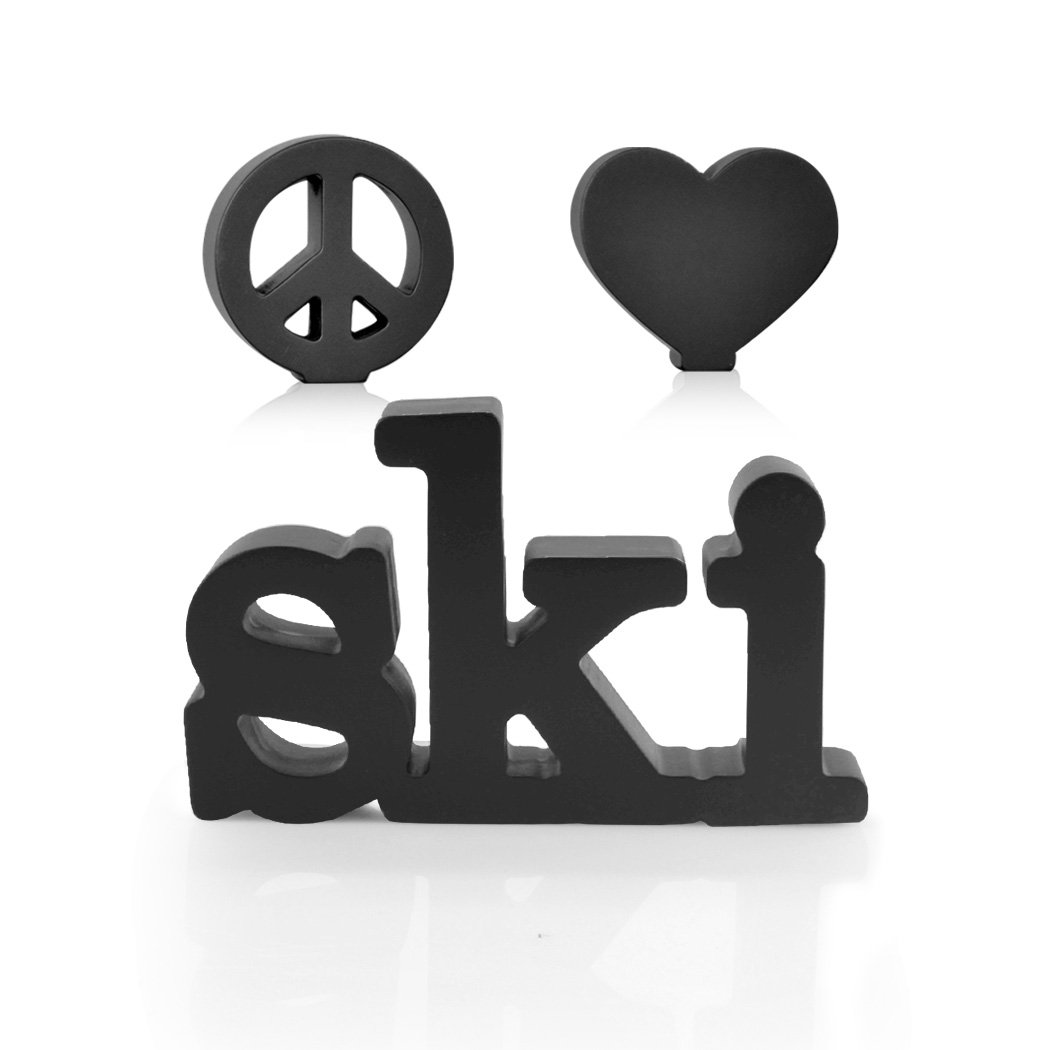 Peace Love Ski Wood Words | Wood Words by ChalkTalk SPORTS | Room, Shelf and Desk Décor