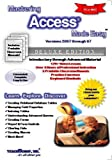 Mastering Access Made Easy V. 2007 through 97 Training Tutorial - Learn how to use Microsoft Access e Book Manual Guide Even dummies can learn from this total CD for MS Access, featuring Introductory through Advanced material from Professor Joe, TeachUcomp, 1934131199