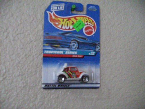 Hot Wheels Baja Bug #694 1998 Tropicool Series Same Size Wheels Blue/white Card (Bug Volkswagen Baja)