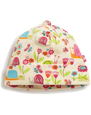 Baby-girls Infant Garden Snail Hat